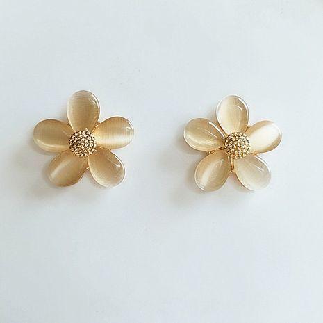 fashion flower  femininity Korean new trend small earrings wholesale nihaojewelry NHVA230811's discount tags