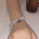 Korea new bracelet broken crystal elastic retro old butterfly fashion bracelet wholesale nihaojewelry NHYQ230837