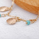 new womens handmade shell turquoise anklet fashion jewelry wholesale wholesale nihaojewelry NHXI230987