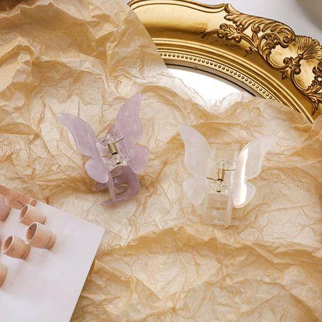 fashion  butterfly shape grab clip acetate plate hair grab disc hair clip wholesale nihaojewelry NHMS231016's discount tags