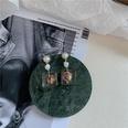 NHYQ780393-Dried-flowers-rose-earrings