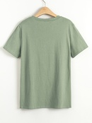 summer new fashion loves pattern simple style Tshirt for women wholesale  NHSN231120