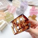mediumsized hair clip Korean elegant back head acrylic hair clip Acetate hair accessories wholesale nihaojewelry NHOF236093