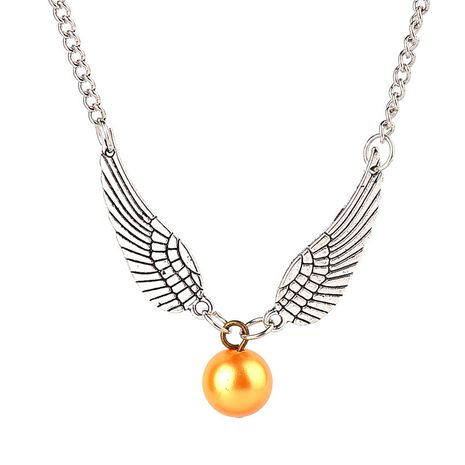 Popular fashion Necklace Gold Snitch Necklace Unisex Clavicle Chain Wholesale NHCU236203's discount tags