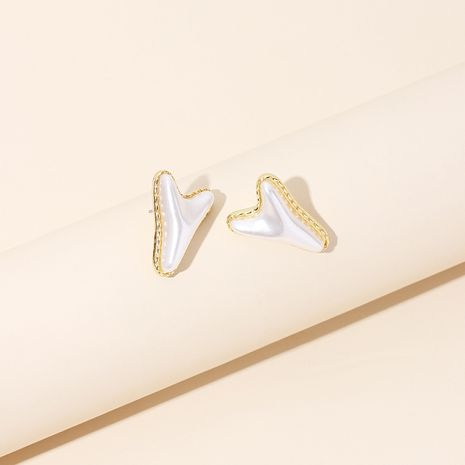 Original simple geometric irregular letter Y-shaped earrings retro earrings wholesale nihaojewelry NHRN236222's discount tags