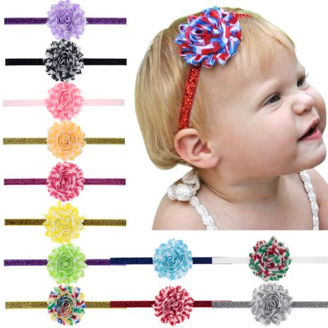 Children's Jewelry Wholesale Baby Wave Sun Flower Hair Band Raw Scallion Lead Band  NHWO236268's discount tags
