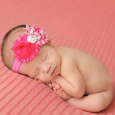 bijoux de tête pour enfants en gros bébé couleur unie soleil fleur vague bord cassé fleur bande de cheveux NHWO236273's discount tags