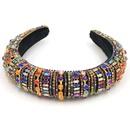 Fashion new  Baroque fashion hair accessories headband full of rhinestones catwalk hairband nihaojewelry NHCO236283