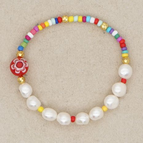 Korean creative baroque style natural beautiful pearl sweet bracelet wholesale nihaojewelry NHGW236391's discount tags