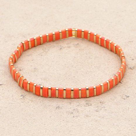 estilo étnico simple pulsera tiramis perlas color pulsera boutique joyería al por mayor nihaojewelry NHGW236400's discount tags