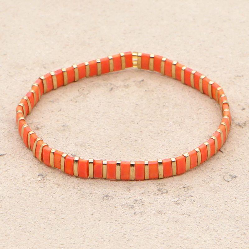 ethnic style simple bracelet tiramis beads color bracelet boutique jewelry wholesale nihaojewelry NHGW236400