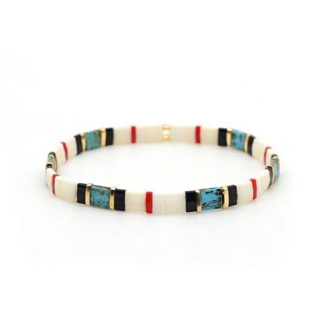 hot style fashion beach bohemian bracelet tila beaded couple bracelet wholesale nihaojewelry NHGW236407's discount tags