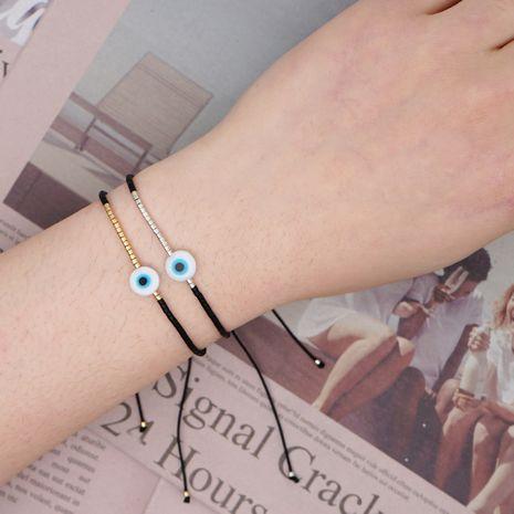 Cuentas de arroz Miyuki simples Pulsera pequeña tejida a mano Pulsera pequeña Cuerda de la amistad al por mayor nihaojewelry NHGW236437's discount tags