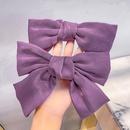 Fashion purple threepiece hairpin purple intestine hair ring hair band bow knot headband wholesale nihaojewelry NHNA236457