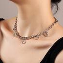 fashion jewelry trend metal choker necklace cloud pendant necklace wholesale nihaojewelry NHNZ236478