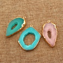 new products DIY single circle resin handmade irregular jewelry imitation natural stone wholesale nihaojewelry NHGO236525