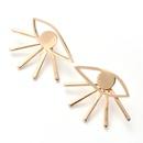 popular fashion earrings Devils eye earrings front and rear earrings wholesale nihaojewelry NHOA236598