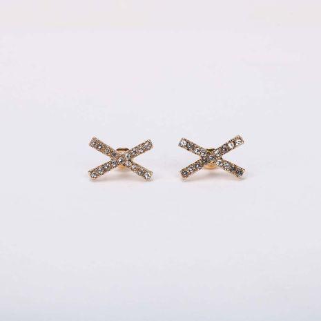 Mode nouvelle vente chaude boucles d'oreilles strass pour les femmes S925 boucles d'oreilles en alliage d'aiguille d'argent en gros NHQS236833's discount tags