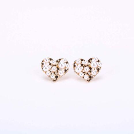 Mode S925 boucles d'oreilles en argent aiguille d'amour pour femmes boucles d'oreilles en alliage simple coréen boucles d'oreilles sauvages nihaojewelry NHQS236838's discount tags