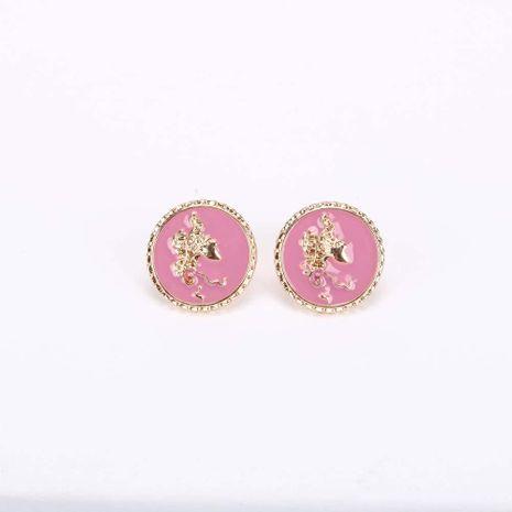 Boucles d'oreilles à l'huile de mode S925 boucles d'oreilles en argent avec aiguille en argent pour femmes NHQS236850's discount tags