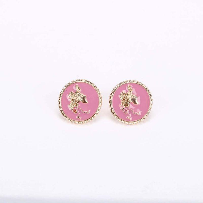 Fashion oil drop earrings S925 silver needle  Korean retro flower  women's earrings  NHQS236850