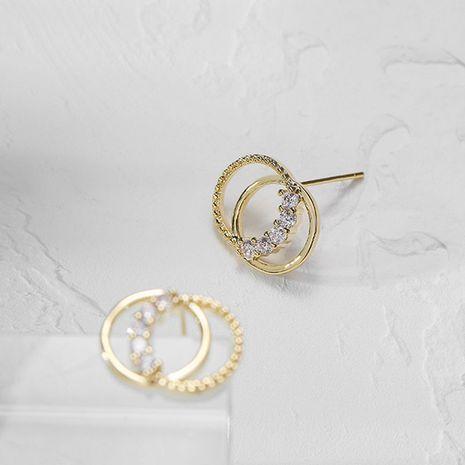 nouvelles boucles d'oreilles simples pour femmes de la mode coréenne à la mode nihaojewelry en gros NHXI236857's discount tags