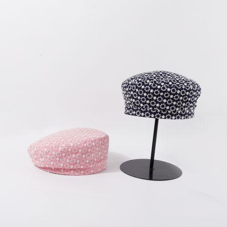Flor de moda cool girl boina mujeres marea sombrero de calabaza nicho coreano invierno nuevo bud hat wild nihaojewelry NHTQ236958's discount tags