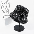 NHTQ830548-Sequined-Fisherman-Hat-Black-M-(56-58cm)