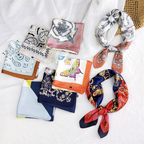 Fashion new 70 small square scarf silk small scarf  nihaojewelry wholesale  NHMN236976's discount tags