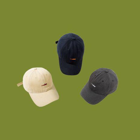 Fashion embroidered baseball caps Korea hot selling sun hats women caps men hat wholesale nihaojewelry NHTQ236970's discount tags