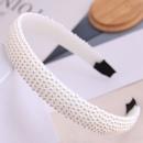 Accessoire de cheveux de mode corenne sauvage simple perle dames simple bandeau large bandeau NHSC237358
