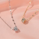 Korean hot sale fashion necklace alloy necklace geometric pendant clavicle chain hot accessories wholesale nihaojewelry NHDP237069