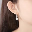 fashion Korean simple and versatile sweet banquet pearl pendant earrings wholesale nihaojewelry NHTM237132