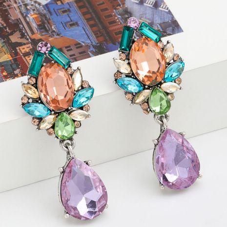 Pendientes de moda en forma de gota de diamantes de imitación de diamantes de moda de moda al por mayor nihaojewelry NHJE237184's discount tags