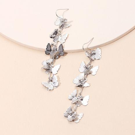 Mode simple accessoires d'oreille gland petites boucles d'oreilles papillon boucles d'oreilles pour femmes sauvages crochets d'oreille nihaojewelry NHRN237247's discount tags