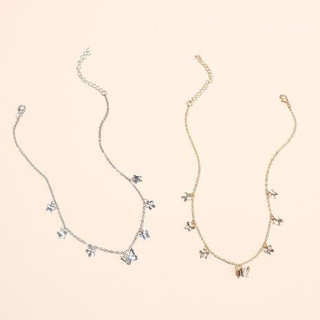 Mode vente chaude tour de cou papillon clavicule collier hipster simple collier pendentif court pour les femmes nihaojewelry NHRN237253's discount tags