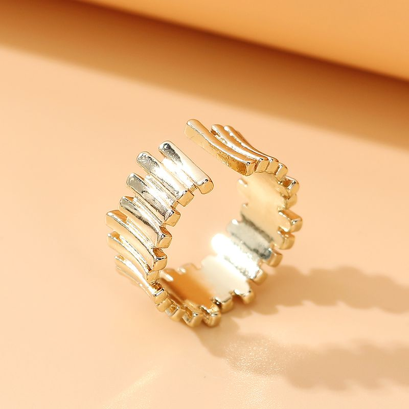 Korean simple fashion ring for women trend fashionable ring alloy ring nihaojewelry NHPS237327