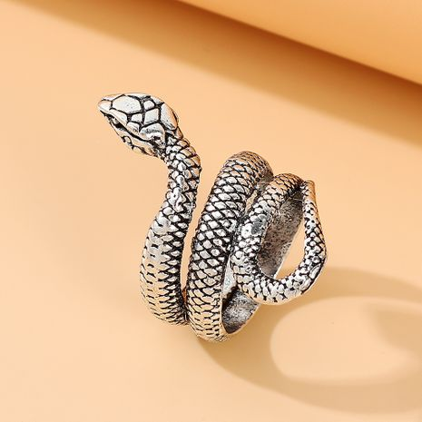 Fashion ring exquisite all-match snake ring pop alloy ring nihaojewelry NHPS237328's discount tags