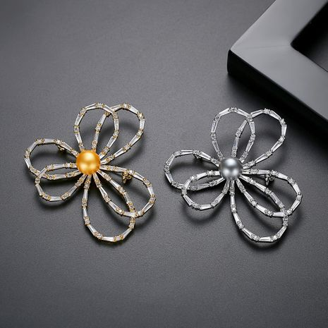 fashion Korean new creative ladies brooch wholesale nihaojewelry NHTM237113's discount tags