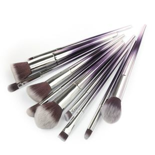 hot sale 10 gradient diamond handle makeup brush eyeshadow eye brush beauty tools wholesale nihaojewelry NHDJ237371's discount tags