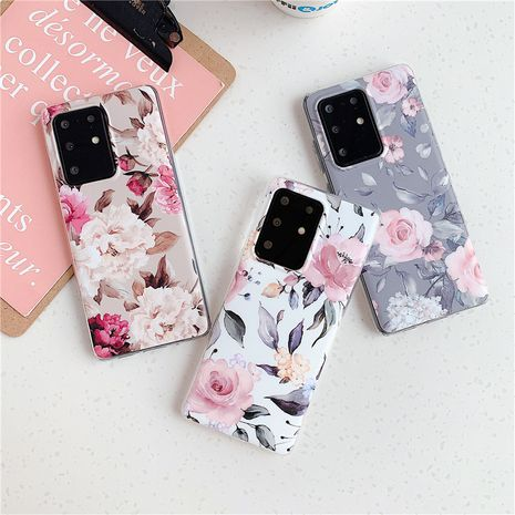 Simple banana leaf phone case for Samsung S20 S9plus all-inclusive Note10 literary floral s10e A70 phone case  NHFI237430's discount tags
