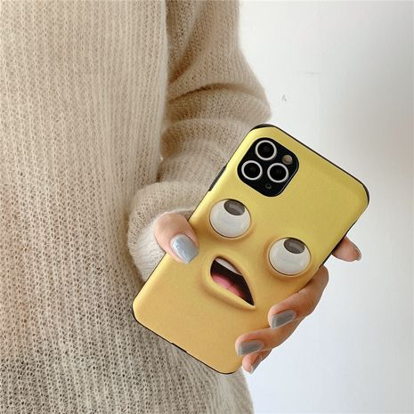 Funny expression phone case for Apple 11Pro/iPhone8plus/P40pro silk pattern soft phone case NHFI237435's discount tags