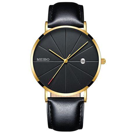 reloj de negocios de los hombres correa de cuarzo reloj de negocios reloj de hombre ultra delgado al por mayor nihaojewelry NHSS237531's discount tags