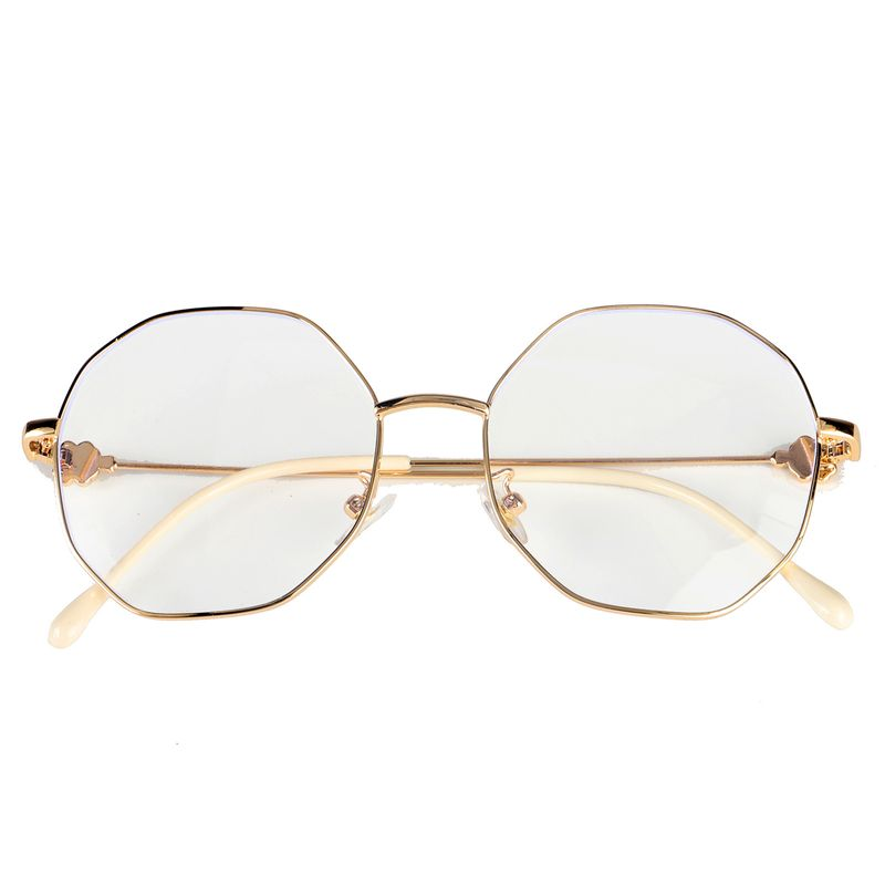 New design anti-blue glasses fashion all-match metal flat myopia glasses frame wholesale nihaojewelry NHBC237577