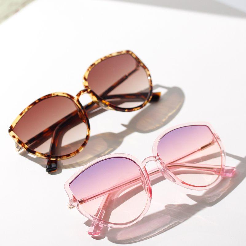Fashion Korean trend cats eye oversized frame sunglasses for women retro sunglasses explosion glasses nihaojewelry NHXU237677
