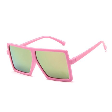 Korean children's sunglasses big frame colorful glasses fashion baby trend sunglasses wholesale nihaojewelry NHBA237686's discount tags