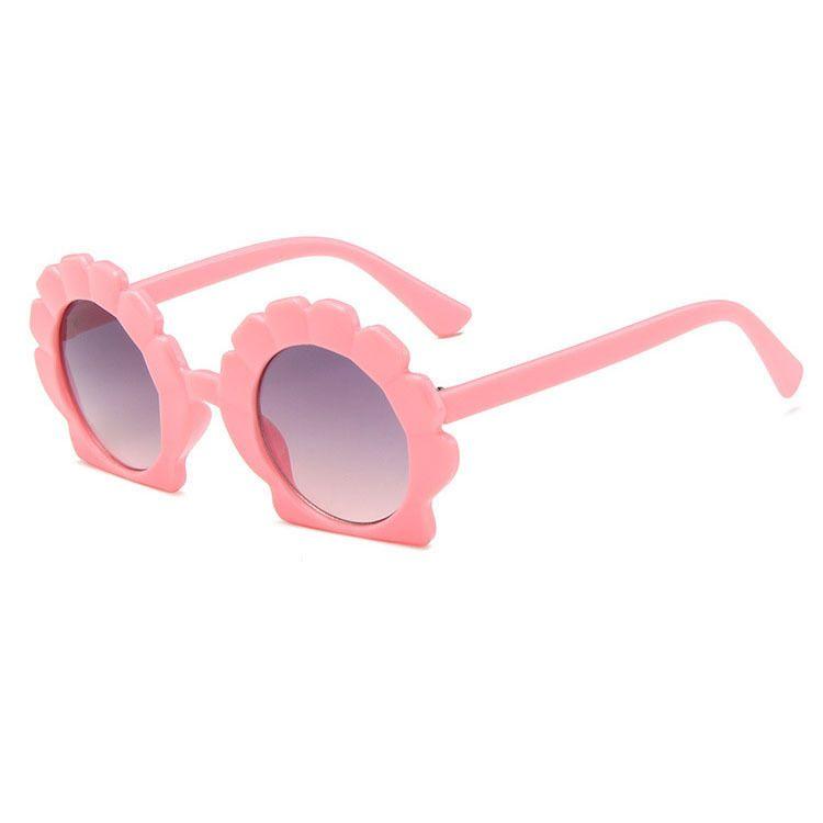 Shell children sunglasses new irregular sunglasses cartoon cute UV protection sunglasses wholesale nihaojewelry NHBA237695