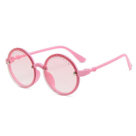 Kids Sunglasses Cute UV Protection Trendy Girls Baby Fashion Letter Sunglasses wholesale nihaojewelry NHBA237698's discount tags