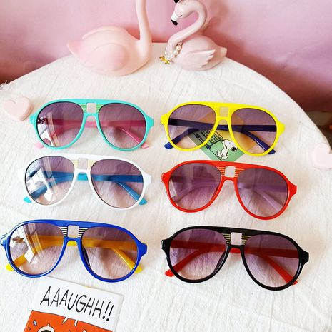 Trendy baby fashion sunglasses children trendy sunglasses  wholesale nihaojewelry NHBA237702's discount tags
