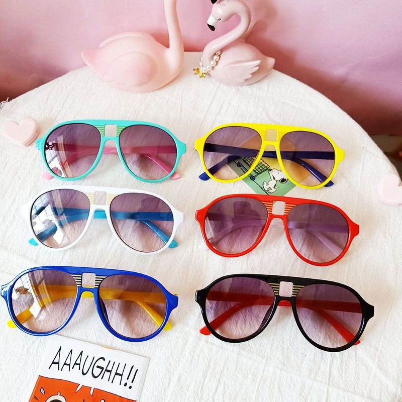 Trendy baby fashion sunglasses children trendy sunglasses  wholesale nihaojewelry NHBA237702